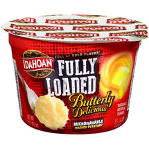 Idahoan Fully Loaded Butterly Delicious Microwaveable Mashed Potatoes