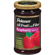 Polaner All Fruit Raspberry Seedless Fruit Spread With Fiber