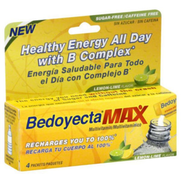 Bedoyecta Max B Complex Multivitamin Packets