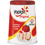 Yoplait Original Strawberry Cheesecake Yogurt