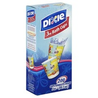 Dixie Everyday Bath Cups 3oz - 200 CT