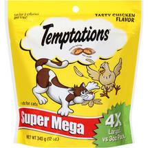 Temptations Tasty Chicken Super Mega Pack Treats for Cats