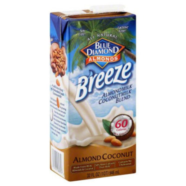 Blue Diamond Almond Breeze Almond Coconut Almondmilk/Coconutmilk Blend