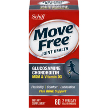 Move Free Advanced Glucosamine Chondroitin Joint Supplement with Hyaluronic Acid MSM and Vitamin D3