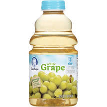 Gerber Juices White Grape From Concentrate