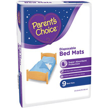Parent's Choice Disposable Bed Mats
