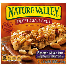 Nature Valley Sweet & Salty Nut Roasted Mixed Nut Granola Bars