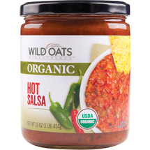 Wild Oats Marketplace Organic Hot Salsa