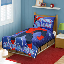 Spider-Man You Are Spider-Man 4-Piece Toddler Bedding Set