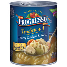 Progresso Hearty Chicken & Rotini Soup