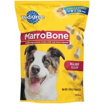 Pedigree Marrobone Real Beef Flavor Dog Treats