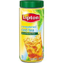 Lipton Decaffeinated Unsweetened Iced Tea Mix