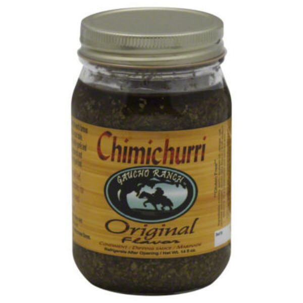Gaucho Ranch Chimichurri Marinade Condiment & Dipping Sauce