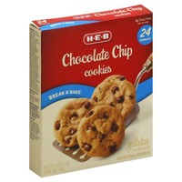 H-E-B Chocolate Chip Break & Bake Cookies