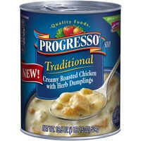 Progresso Traditional Creamy Roasted Chicken with Herb Dumplings Soup