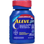 Aleve PM Sleep Aid/Pain Reliever Caplets