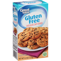 Great Value Gluten Free Chocolate Chip Cookies