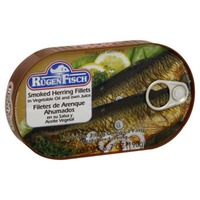 Rugen Fisch Herring Fillets, Smoked