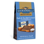 Ghirardelli Dark & Sea Salt Caramel Chocolate Squares