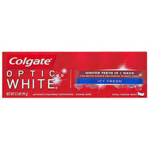 Colgate Optic White Icy Fresh Cool Fresh Mint Toothpaste