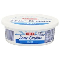 H-E-B Light Sour Cream
