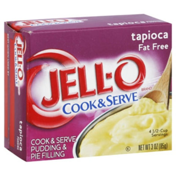 Jell-O Tapioca Fat Free Cook & Serve Pudding & Pie Filling Mix