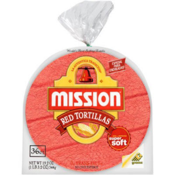 Mission Red Corn Tortillas