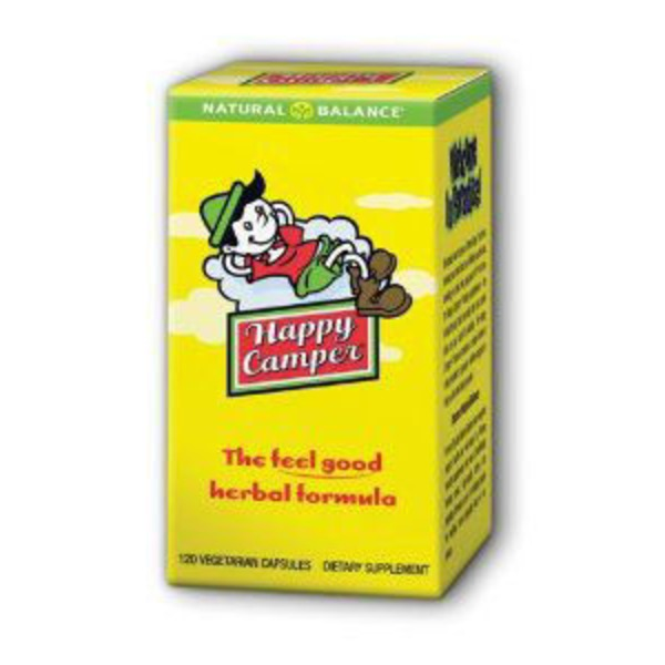 Natural Balance Happy Camper Tension & Anxiety Formula Vegetarian Capsules