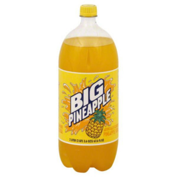 Big Pineapple Pineapple Soda