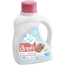 Dreft Stage 1 Newborn Liquid Laundry Detergent