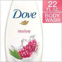 Dove go fresh Pomegranate and Lemon Verbena Body Wash