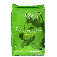 Kirkland Signature Nature's Domain Organic Chicken & Pea Formula For Dogs, Grain-Free