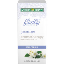 Nature's Bounty Earthly Elements Aromatherapy Jasmine Blended Essential Oil
