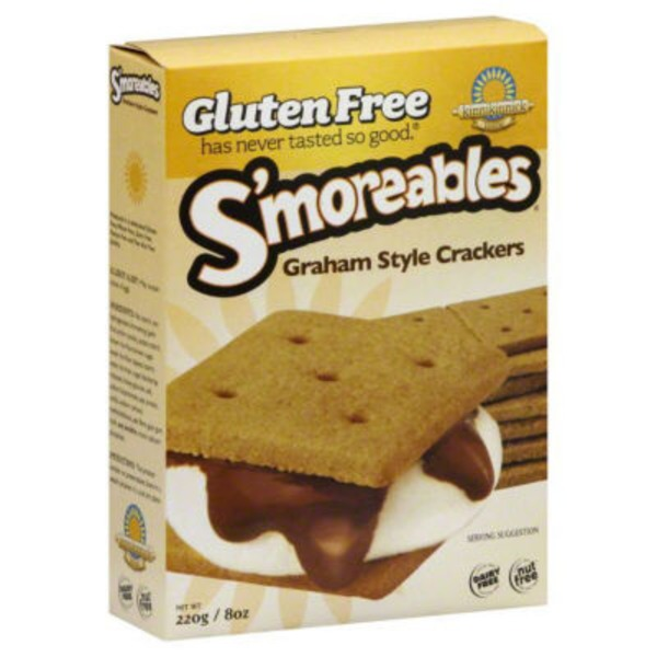 Kinnikinnick Foods S'moreables Graham Style Crackers
