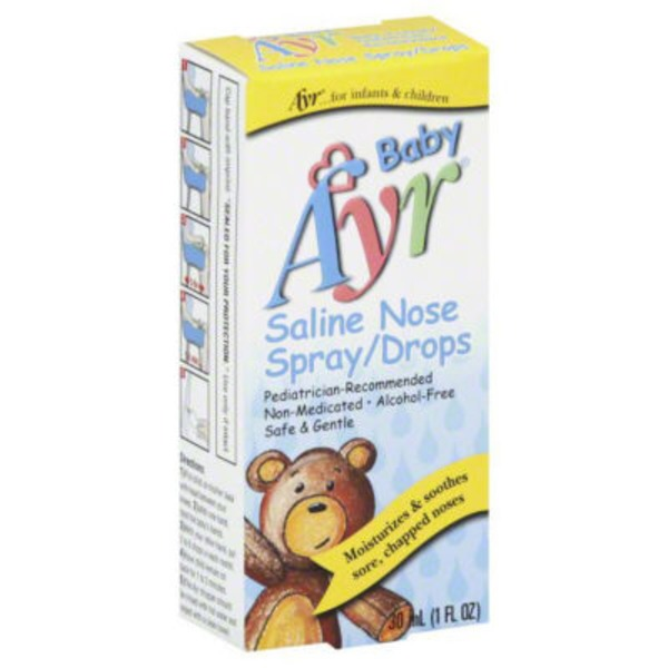 Ayr Baby Ayr Saline Nose Spray / Drops