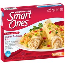 Weight Watchers Smart Ones Classic Favorites Chicken Enchiladas Suiza