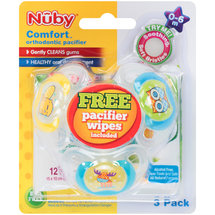 Nuby Comfort Orthodontic Pacifiers