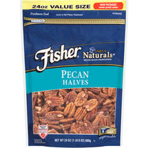 Fisher Chef's Naturals Pecans Halves