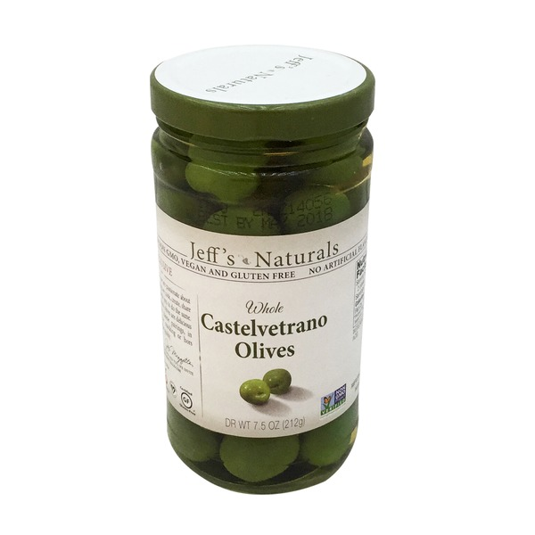 Jeff's Naturals Whole Castelvetrano Olives