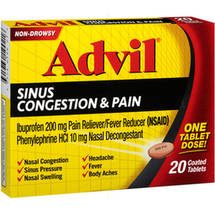 Advil Sinus Congestion & Pain Reliever