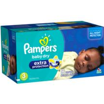 Pampers Extra Protection Diapers Huggies Size 3 92 ct