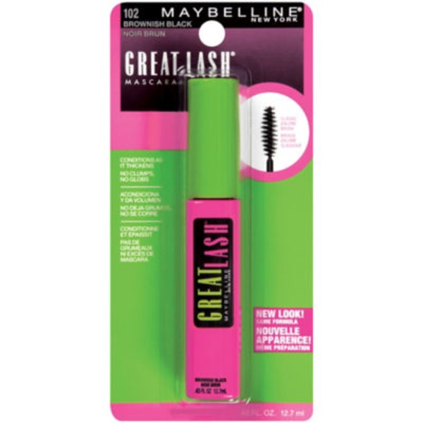 Great Lash® Brownish Black Washable Mascara