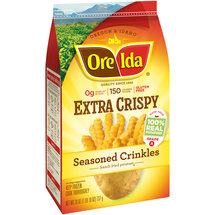 Ore-Ida Extra Crispy Seasoned Crinkles French Fried Potatoes