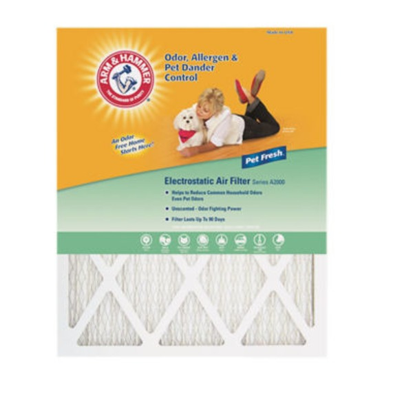 Arm & Hammer 14 Inches X 30 Inches X 1 Inch Pet Fresh Air Filter