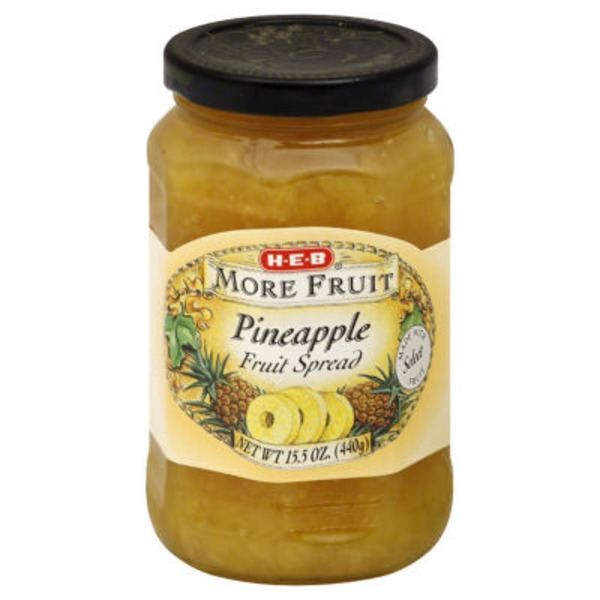 H-E-B More Fruit Pineapple Spread
