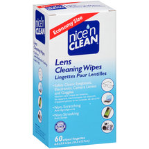 Nice'n Clean Lens Cleaning Wipes