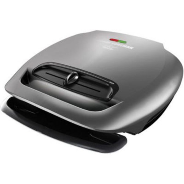 George Foreman 5 Serving Classic Plate Grill - Gray