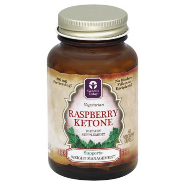 Genesis Today Raspberry Ketone Vegetarian Capsules 800 Mg From H E B In Austin Tx Burpy Com