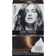 John Frieda Precision Foam Colour 5G Brilliant Brunette Medium Golden Brown