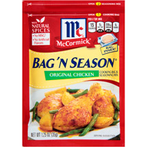 McCormick Bag 'n Season Chicken Original Cooking Bag & Seasoning Mix